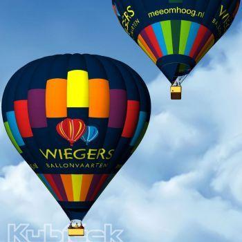 Nieuwe luchtballon Wiegers