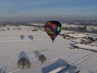 Winter ballonvaarten