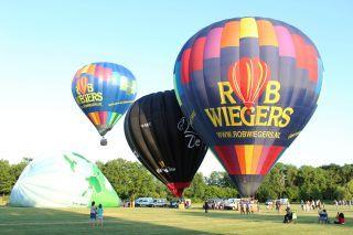 Ingezonden foto luchtballon