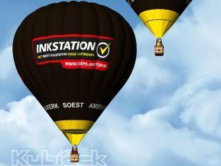 Wiegers Ballonvaarten start samenwerking met Inkstation