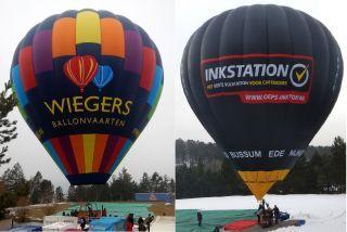 Nieuwe luchtballons klaar