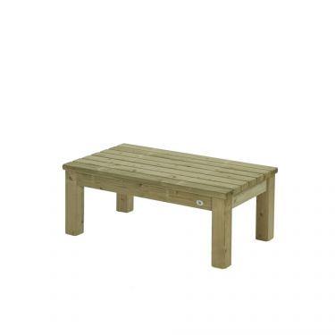 Tuintafel Zeist, 70x120 cm, Massief hout, Made NL
