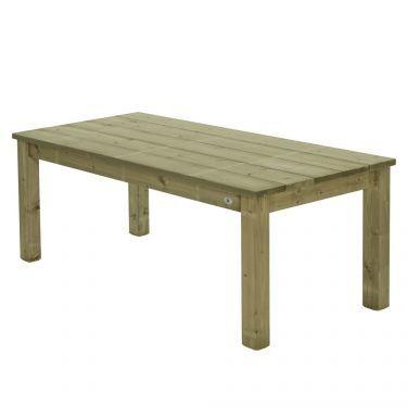 Tafel Lisse 100x180 cm, massief hout