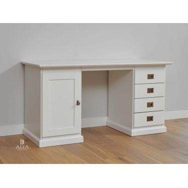 Bureau ALTA, 1 deur, 4 laden, 60x145 cm