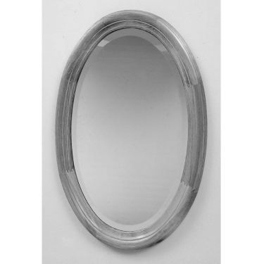 Spiegel ovaal 50x70 cm, facet, profiel, 6 kleuren