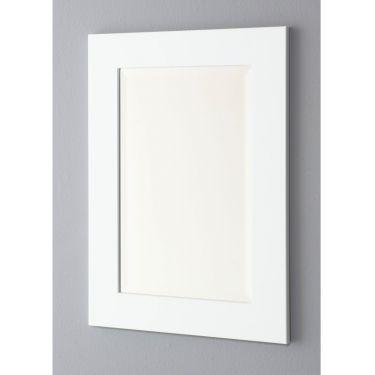 Spiegel 75x105 cm, facet, rechte lijst, 3 kleuren