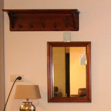 Spiegel ALTA, 48x67 cm, Old cherry