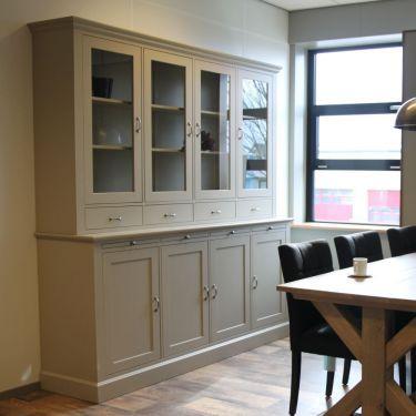 Buffetkast ALTA 4-deurs, Zandsteen