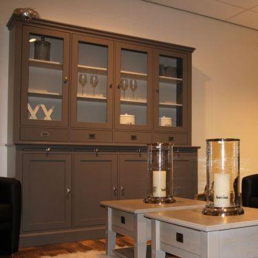 Buffetkast ALTA 4-deurs, Murano grey