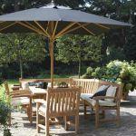 Hoekbank en tafel Teak & Garden, Big Ben