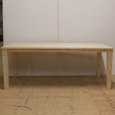 Eettafel ALTA 100x200 cm, recht, massief hout