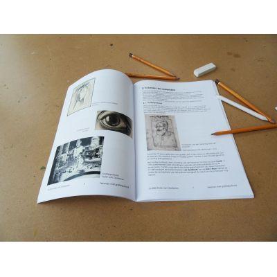 Tijdens de tekencursus gaan we uitgebreid in op de diverse tekenmaterialen. Cursus basisbeginselen van het tekenen met potlood. Ombers & Okers