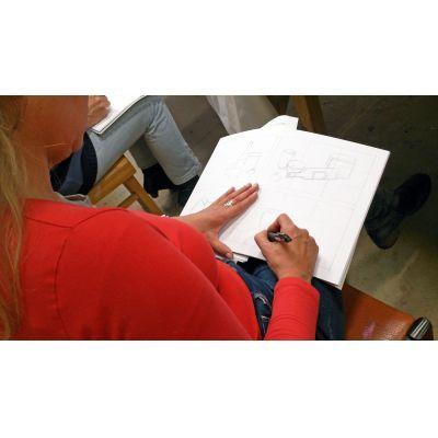 Met een betere compositie krijgt je kunstwerk meer zeggingskracht. Cursus compositieleer bij Ombers & Okers.