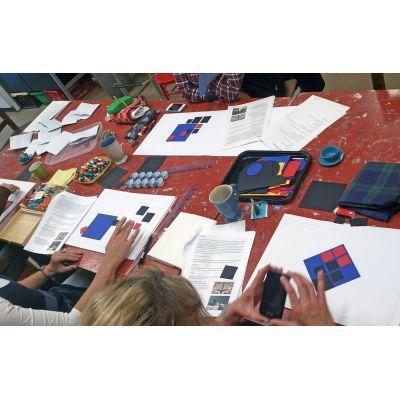 Leerzame oefeningen hoe je tot een goede compositie komt. Cursus compositieleer bij Ombers & Okers.