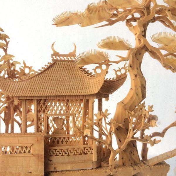 Een chinees miniatuur op de Paltz?