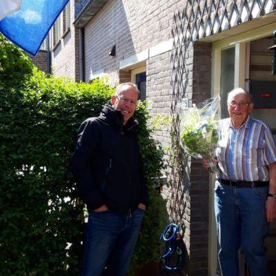Joop Oversteegen musiceert al 75 jaar bij PVO Soest