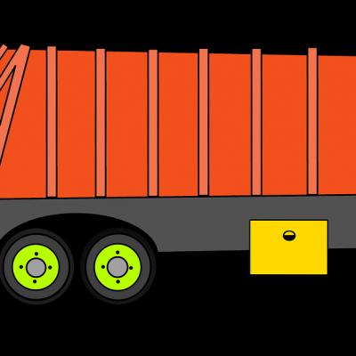 Auto botst tegen vuilniswagen in Soest
