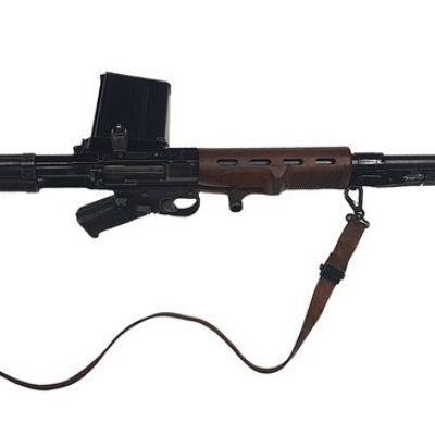 Historisch geweer uit Duitsland in Nationaal Militair Museum Soesterberg