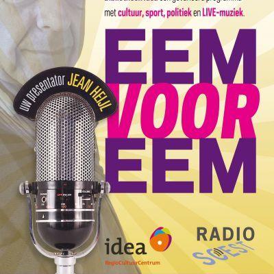 Zaterdag 2e editie van het semi live radio magazine Eem voor Eem vanuit Bibliotheek Idea