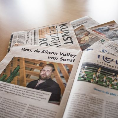 Advertorial: Reto, de Silicon Valley van Soest