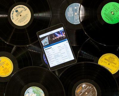 Muziek in nieuwe website PVO Soest