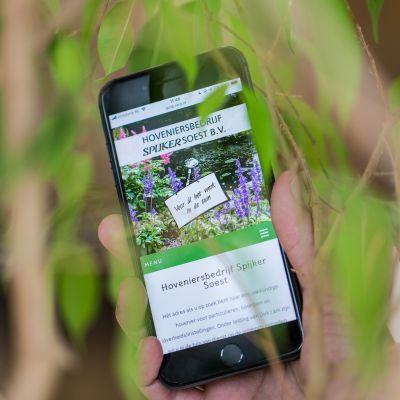 Tuin en website Spijker fris en fruitig