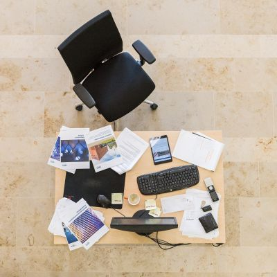 'Clean desk policy' is win-win
