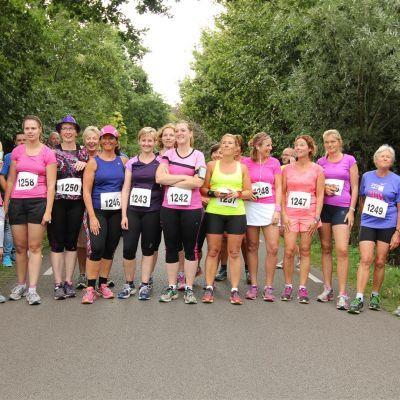Roparun Ladies Run i.s.m. Pijnenburg op woensdag 26 augustus 2015