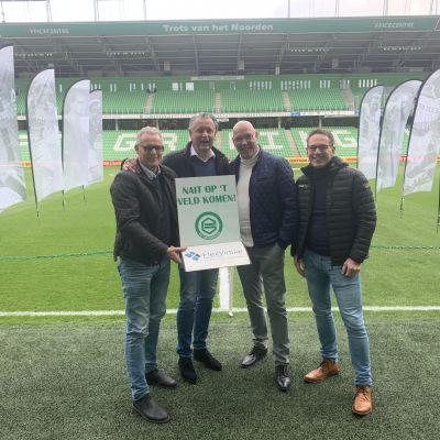 Roparun Soest en FC Groningen slaan handen ineen