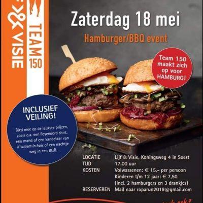 Hamburger BBQ en veiling
