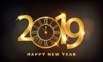 Een fijne jaarwisseling en een gelukkig 2019 !
