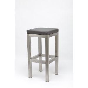 Barkruk Industrial Grey (excl. rugleuning)