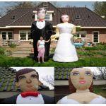 Bruidspaar huren? Van der Schoot Partyverhuur - snel en voordelig bezorgd!