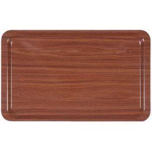 Dienblad hout anti-slip 53x32,5 cm. (1/1GN)