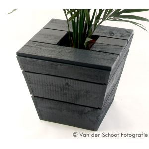 Plantenbak Industrial grey