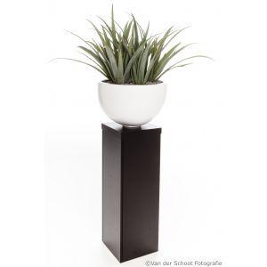 Sokkel Ventura 35x35x(h)108 cm met Agave Aloe
