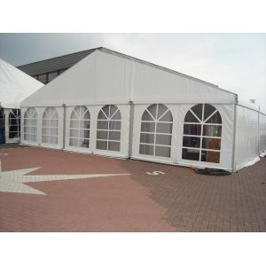Tent Alu-hal 12x25 m (incl. vlondervloer)
