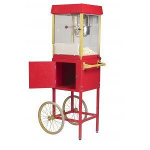 Popcornmachine op wielen