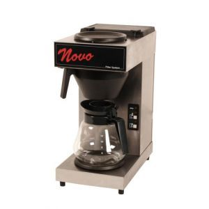 Koffiezetapparaat Novo met 2 kannen