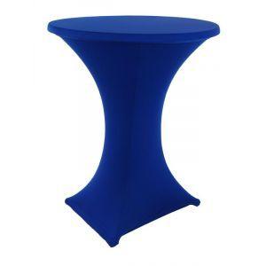 Statafelrok stretch, blauw