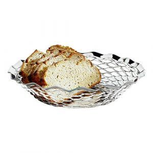 Broodmandje ovaal r.v.s. 28x22 cm.