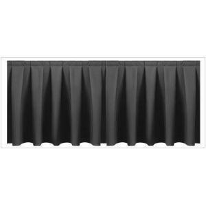 Buffetrok (l)400 x (h)72 cm. zwart