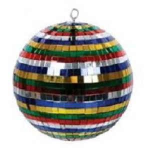 Spiegelbol gekleurd ø 30 cm.