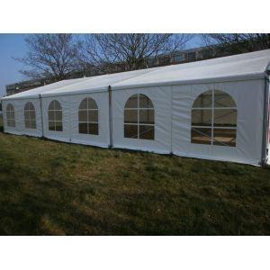 Tent Alu-hal 10x25 mtr. (incl. vlondervloer)