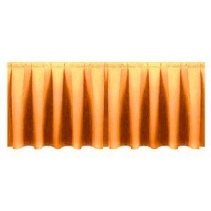 Buffetrok (l)290 x (h)72 cm. goudgeel