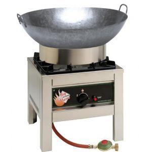 Gaskooktoestel met wok propaan