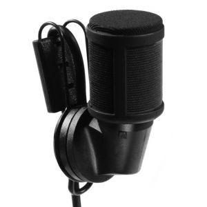 Clip-on microfoon draadloos
