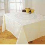 Tafellaken 130x130 cm. vanille huren? Van der Schoot Partyverhuur - snel en voordelig bezorgd!