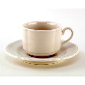 Koffiekop & schotel 18 cl.