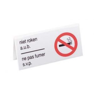 Bordje Niet Roken